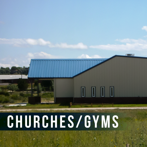 Churches and Gyms Building Types
